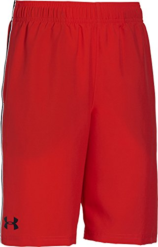 Under Armour Jungen Fitness - Hose und Shorts UA Edge, Red, XL