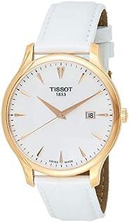 Tissot Women's Quartz Watch, Analog Display and Leather Strap T063.610.36.95