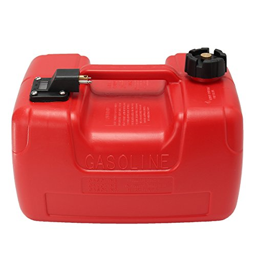 Forspero 12L Portable Boat Yacht Engine Marine Outboard Fuel Tank Oil Box mit Connector