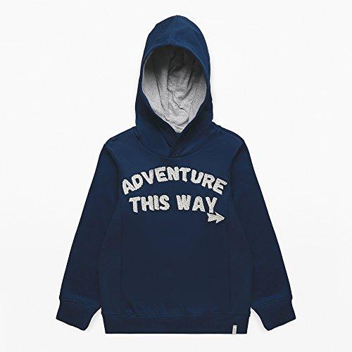 Esprit Jungen RK15114 Sweatshirt,per Pack Blau (Midnight Blue 485),104