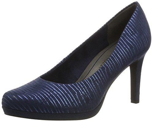 Marco Tozzi 22435, Escarpins Femme Bleu (Navy Comb 890)
