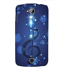 YuBingo Acer Liquid Z530 :: Acer Liquid Zade Z530S Designer Phone Back Case Cover ( Musical Note )