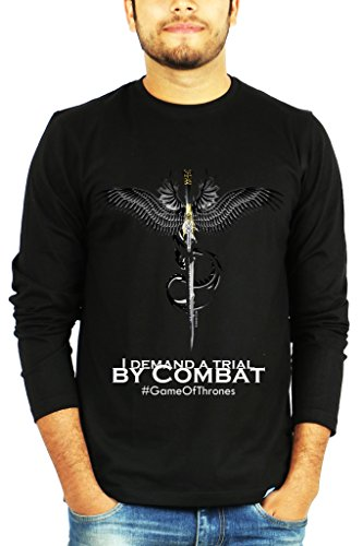 Full Sleeves I demand a trial by Combat - Game of Thrones - GOT Tshirt – TV Series Tshirts by The Banyan Tee ™