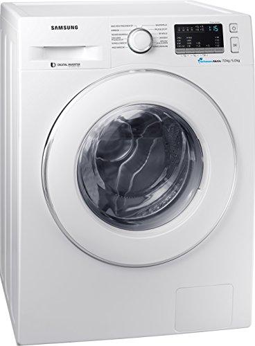 Samsung WD70M4433IW/EG Waschtrockner / 7 kg / 60 cm Höhe / Trommelreinigung, Kindersicherung / SchaumAktiv-Technologie / AirWash