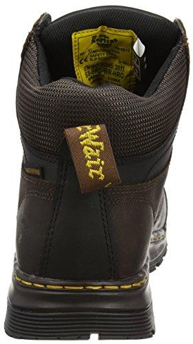 Dr. Martens Surge St Waterproof, Chaussures de Sécurité Homme Marron - Marron