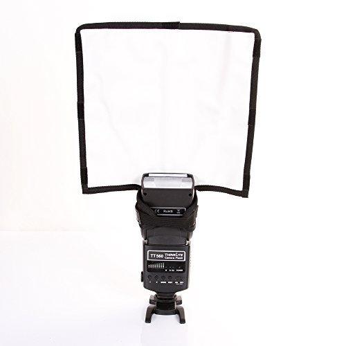 Fotga Faltbare Blitz Speedlite Snoot Softbox Diffusor Reflektor Bender Mini-Reflektor / Strahlrohr für Kamera DSLR Canon Nikon Blitz - Groß Beam Diffusor