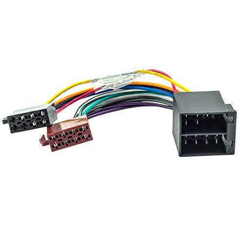 Watermark WM-4686 Autoradio Adapterkabel Universal ISO-Buchse auf ISO-Stecker -