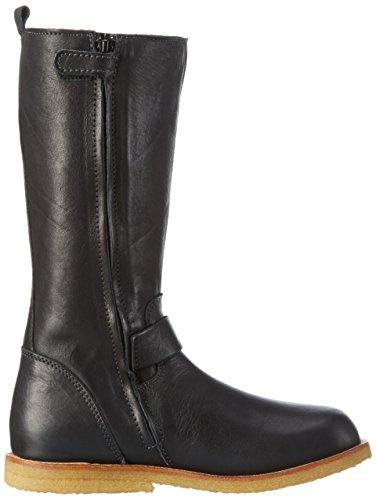 Bisgaard TEX boot, Bottes courtes avec doublure chaude mixte enfant- Noir (202 Black)