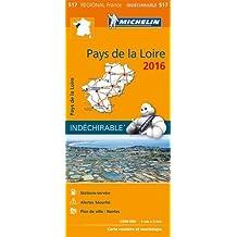 Carte Pays de la Loire 2016 Michelin