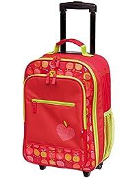 sigikid, Mädchen, Kindergepäck Trolley Apfelherz, 40x17x30 cm, Rot, 24833