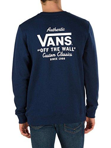 Herren Sweater Vans Holder Street Crew Sweater Dress Blues