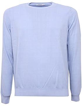B3244 maglione uomo KANGRA maglia girocollo cotone lilla sweater man [48]