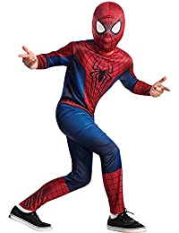 FancyDressWale The Amazing Spiderman Muscle Dress, 4-6 Years (Multicolour)