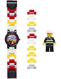 Lego Kids Analogue Quartz Watch with Plastic Strap 8020011
