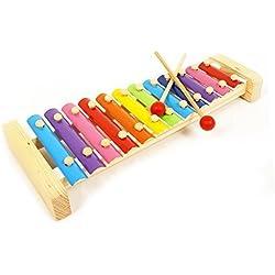 Precioso Novela xilófono Juguetes para niños Hand Knock Piano