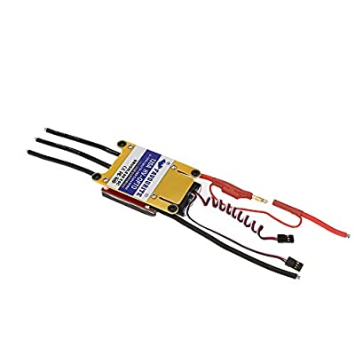 GoolRC Favourite Sea Swallow 120A HV-OPTO 5~12S LiPo 15~36S NiMh Battery High Voltage Brushless Airplane Electronic Speed Controller ESC with USB Programming Setting for Airplane