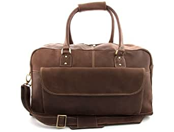 MDK Manila - Leather Holdall - Brown