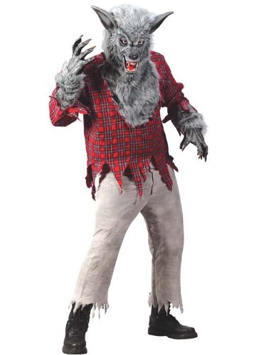 Mens Werwolf Deluxe Halloween ()