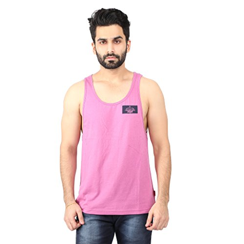 Nostrum-Jeans-Mens-Pink-Round-Neck-Sando-Vest