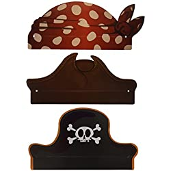 6 sombreros de piratas para fiestas temáticas.