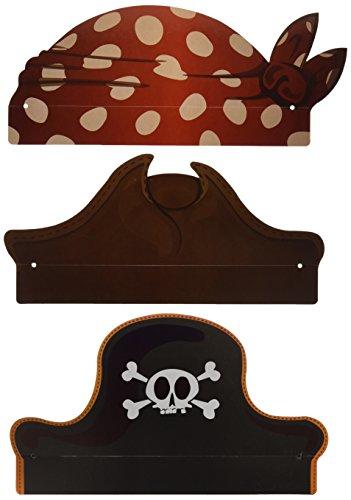 Verbetena - 6 sombreros Piratas (012900180)