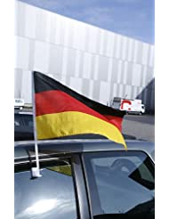 """Autofahne """"Germany"""" mit Halterung"""