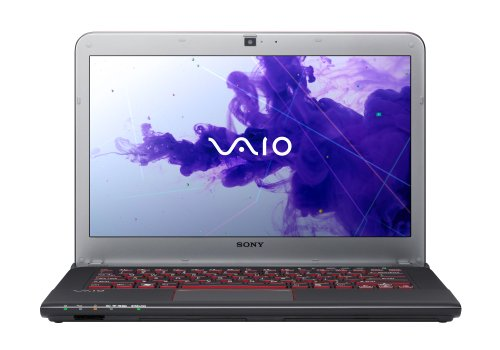 Sony VAIO SVE14A2M6EB 35,6 cm (14 Zoll) Notebook (Intel Core i3 3110M, 2,4GHz, 4GB RAM, 500GB HDD, AMD HD 7650M, DVD, Win 8) schwarz Sony Amd Notebooks