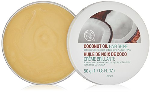 The Body Shop Coconut Oil Hair Shine 50g (Lewis Seife)