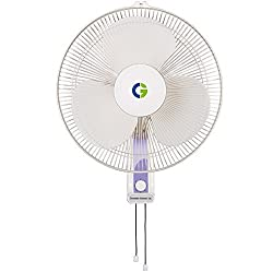 Crompton High Flo Wave Wall Mounted Fan - 400MM
