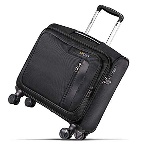 Trolley per PC portatili REYLEO Custodia Rolling Laptop Case Roller Laptop Business Catalogo Valigetta Carrello con ruote TSA Lock Spinner per