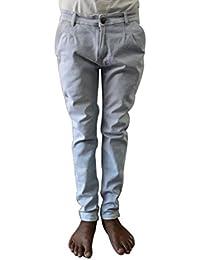 Style Rocks Men's Casual Cotton Regular Fit Jeans (SRJ-02_Blue)