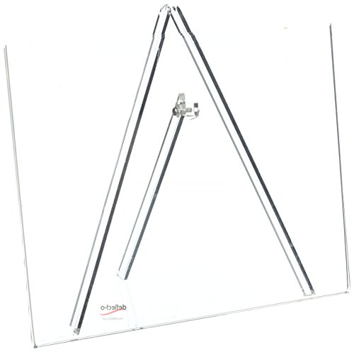 Superior Image Easel Back Sign Holders 11 x 8 1/2, Clear, Sold as 1 Each