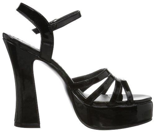 Pleaser DOL25/B Sandales Femmes Noir (schwarz)