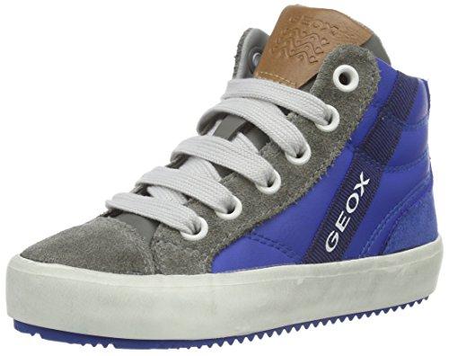 Geox J Alonisso B, Sneakers Hautes Garçon, Blau (Royal/GREYC0095), 31 EU