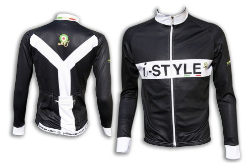 long-sleeve-cycling-top-istyle-ypsilon-black-size2-xl