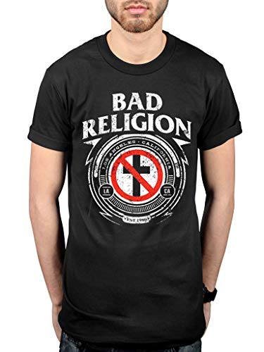 Official Bad Religion Badge T-Shirt