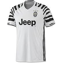 2016-2017Juventus FC Camiseta de fútbol con nombre y número personalizables, tercera equipación, color blanco y negro, hombre, blanco, small
