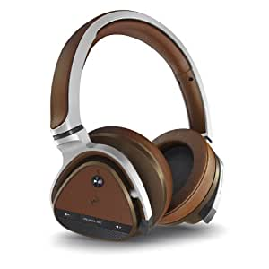 Creative EF0590 Aurvana Platinum Wired/Wireless Headset mit 50mm Treiber/Built-In Microphone (Bluetooth 3.0, NFC, ANC)