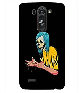PRINTSHOPPII SCARY CARTOON Back Case Cover for LG G3 Beat::LG G3 Vigor::LG G3s::LG g3s Dual