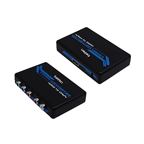 belfenhdmi a 1080p convertidor Component Video (YPbPr) Scaler Soporta R/L audio salida...
