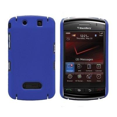 Logotrans Hardcase Tasche für Blackberry 9500 9530 Storm schwarz Blau