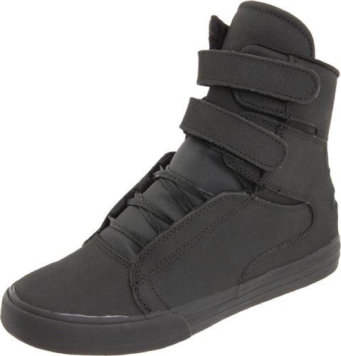 Supra SOCIETY S34037 Herren Sneaker, Schwarz (RCS), 36