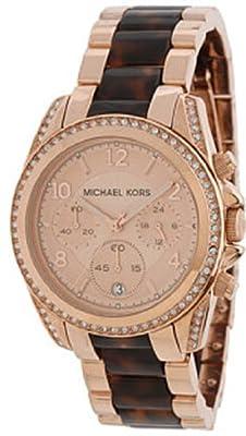 Michael Kors Tortoise Rose Reloj de Oro MK5859