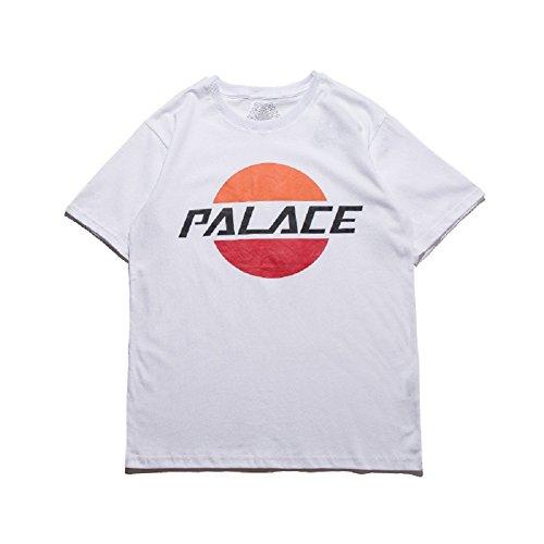 BOMOVO Herren PALACE T-Shirt Jcobiard Tee Ss Crew Neck Weiß