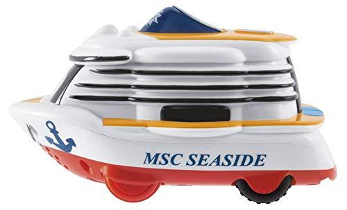 Chicco 00009232000000 - Gioco Turbo Touch Nave Msc Seaside, Multi-colore