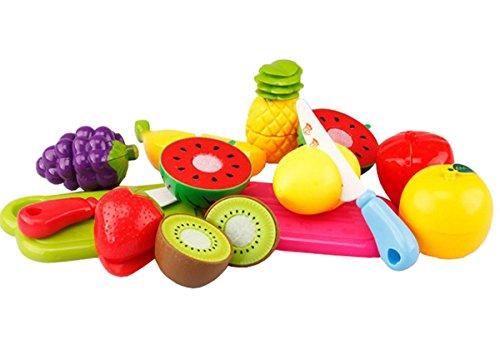 Anastoy Kinder Obst Gemüse Spielzeug mit Klettverschluss