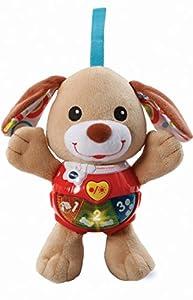 VTech Baby Knuffel & Speel Puppy - Juegos educativos (Marrón, Niño/niña, 2 año(s), Perro, Holandés, De plástico, Felpa)