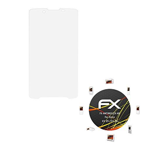 atFolix Schutzfolie kompatibel mit Cyrus CS 25 / CS 30 Bildschirmschutzfolie, HD-Entspiegelung FX Folie (3X)