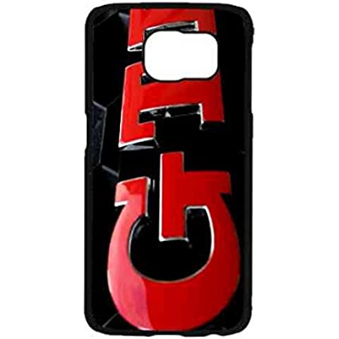 Samsung S7Car Brand Big Logo GTI per cellulare cellulare, Red Logo GTI telefono cassetta per Samsung Galaxy S7, in TPU ultrasottile antiurto Borsa GTI Custodia Cover, l
