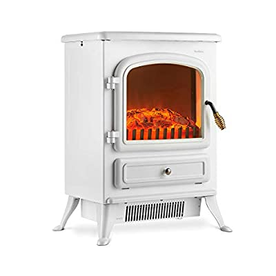 VonHaus Stove Heater Fire Place / Fireplace White